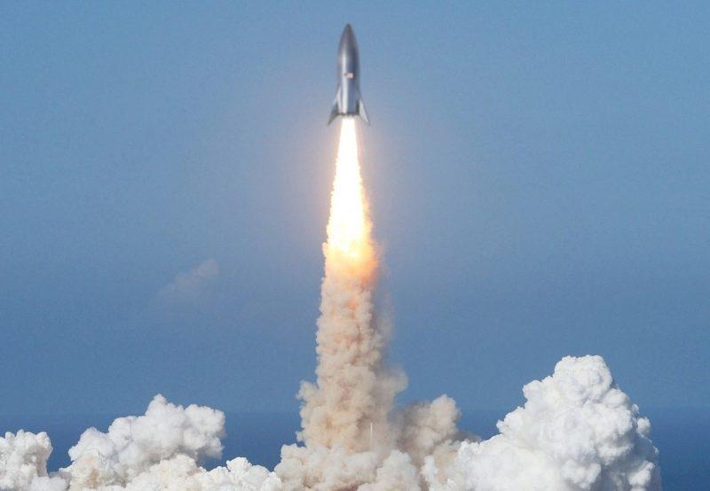 SpaceXスターシップ打ち上げイメージ