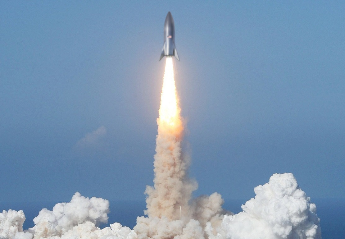 SpaceXスターシップ発射