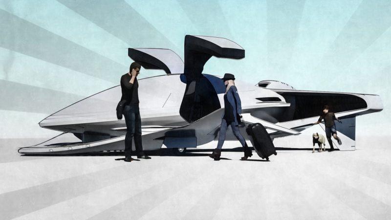 空飛ぶ車のある生活