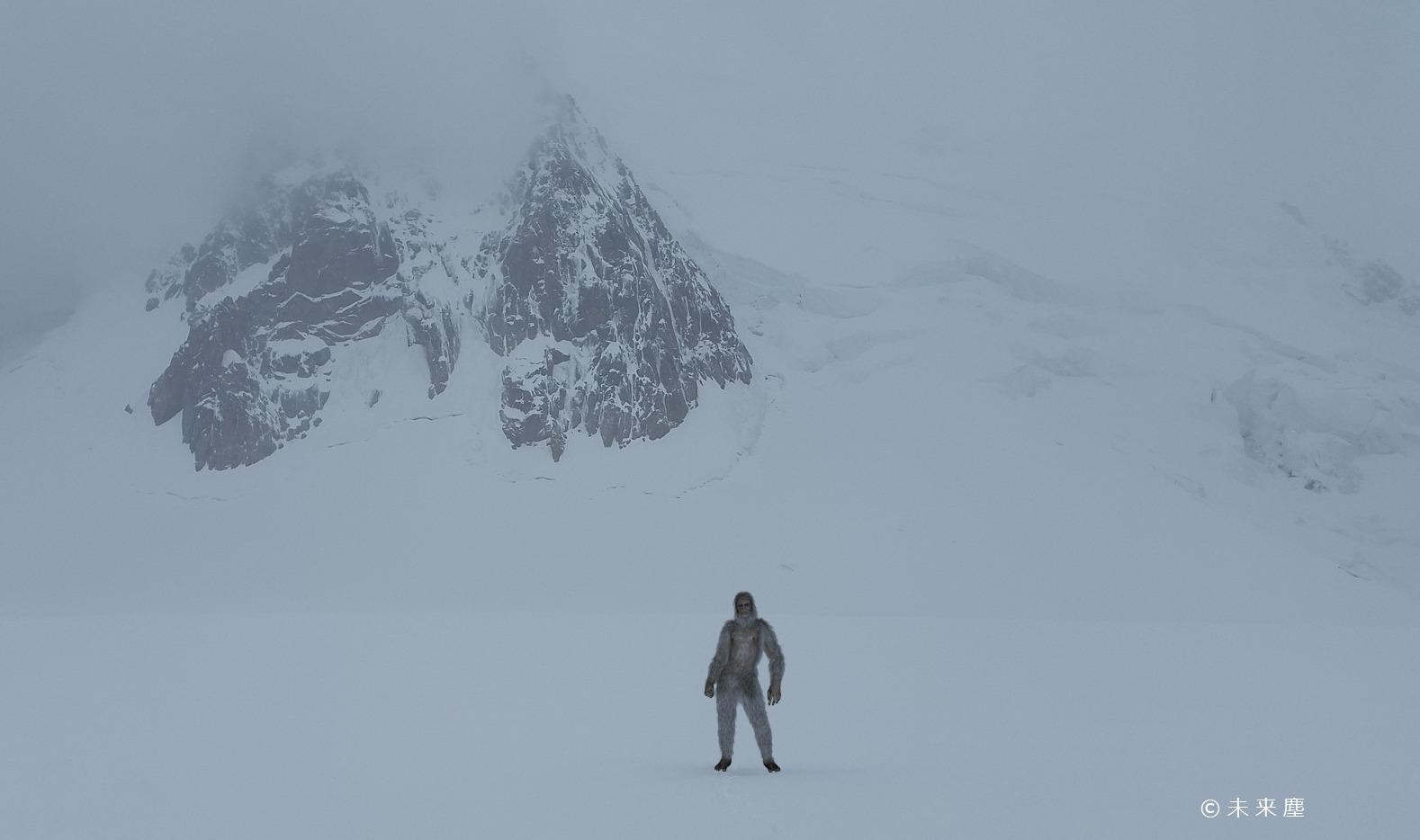 雪山の雪男
