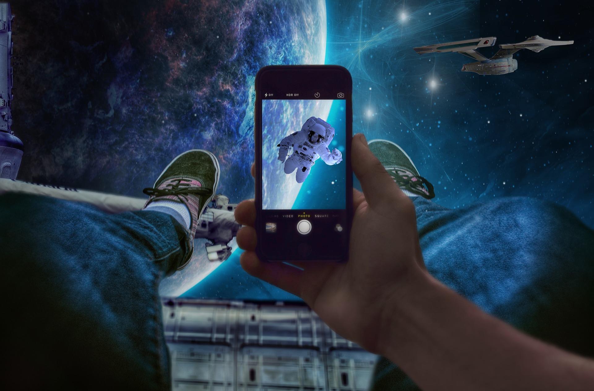 宇宙旅行イメージ