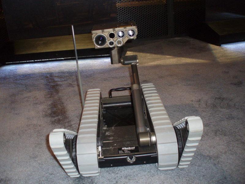 XM1216小型無人地上車(wikimedia.commonsより)