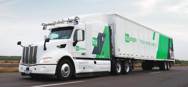TuSimple社の自動運転トラック