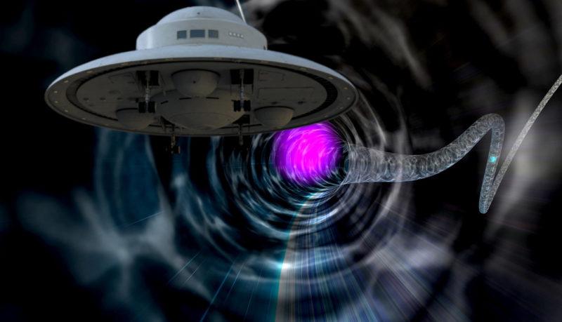 UAP(UFO)タイムマシンイメージ