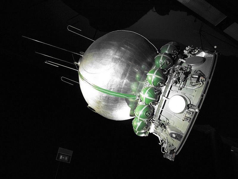 ソ連の宇宙船カプセル(ボストーク1号)