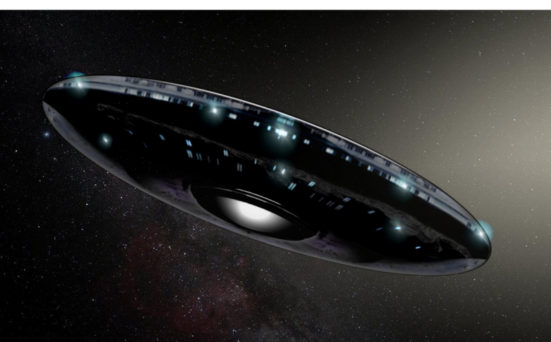 宇宙を進む円盤型オウムアムア